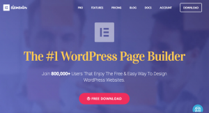 Elementor|The WordPress Page Builder